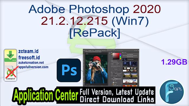 Adobe Photoshop 2020 21.2.12.215 (Win7) [RePack]