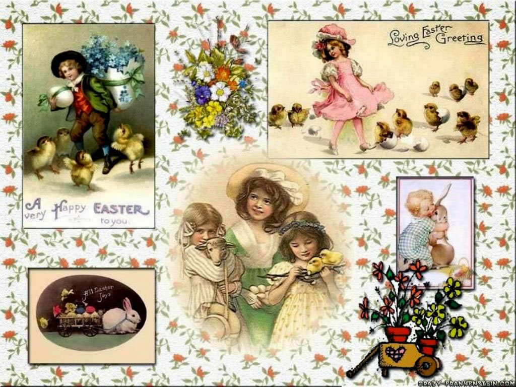 Free Wallpapers For Desktop Easter Collage