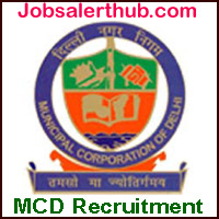 Municipal Corporation of Delhi Recruitment