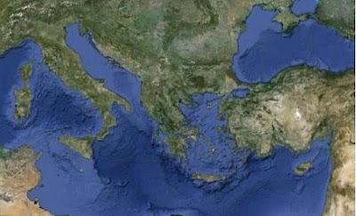 Ελληνικά νησιά κινδυνεύουν με «βύθιση» στα επόμενα 80 χρόνια! Απειλή και για άλλες παραθαλάσσιες πόλεις της Μεσογείου (χάρτης)