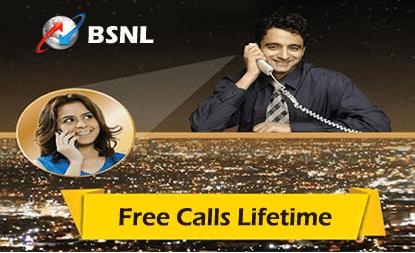 BSNL Free Calls Lifetime