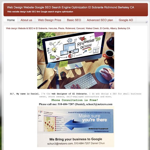 baynetsolution web design & SEO in Richmond Oakland El Sobrante CA