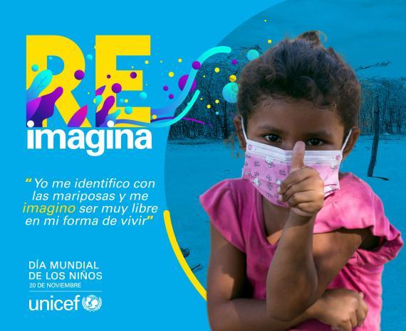 """https://www.notasrosas.com/""""Reimaginar Tu Mundo"""", llamado de Unicef, en el Día Mundial De Los Niños"""