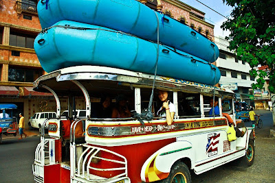 backpacker rafting adveture to cagayan de oro philippines