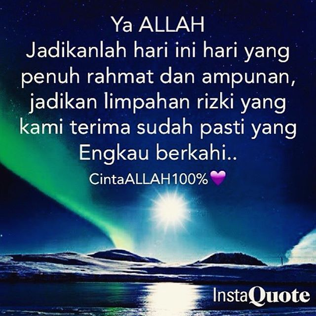 Gambar Islami Hari Senin