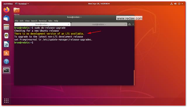 linux ubuntu upgrade
