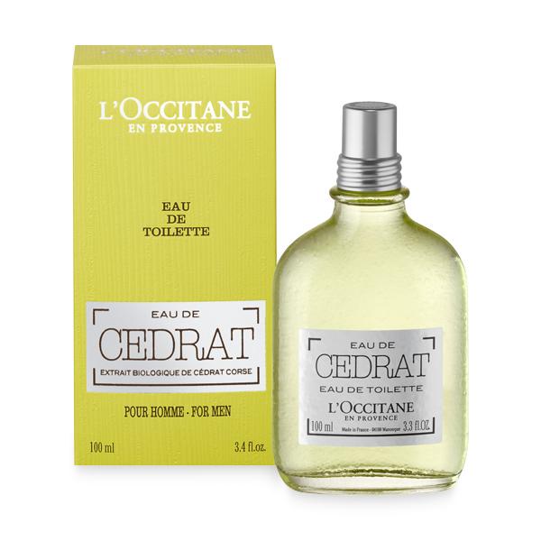 L'Occitane en Provence's New Cedrat Eau de Toilette.jpeg