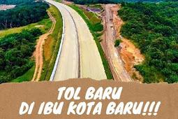 Jalan Tol Pertama di Kalimantan