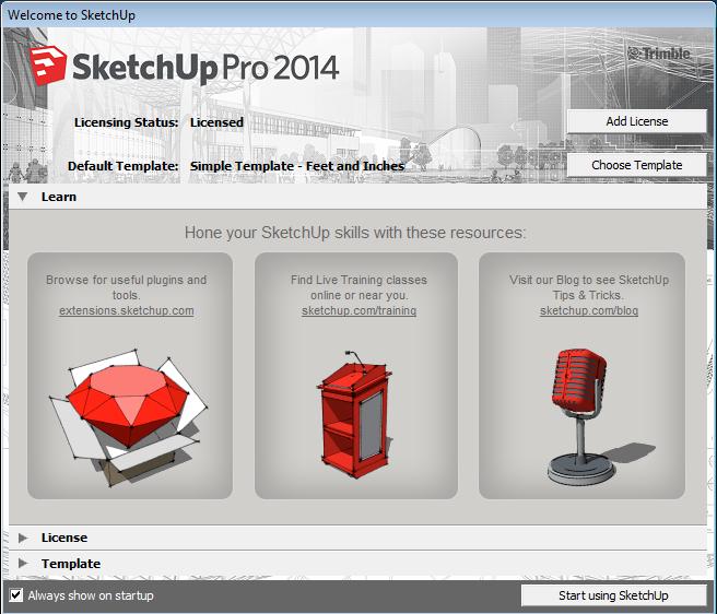 تحميل برنامج sketchup مع الكراك