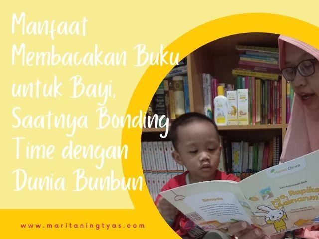 manfaat membacakan buku untuk bayi