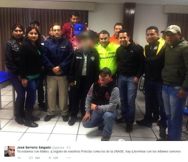estudiante del Tomas Moro fue rescatado por la UNASE