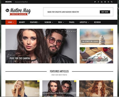 ​​​Motive wordpress theme