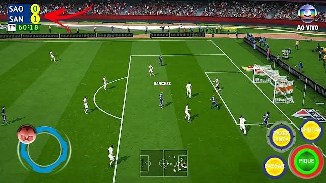 Novo jogo de futebol 2020 offline com times licencíados fifa 20 android