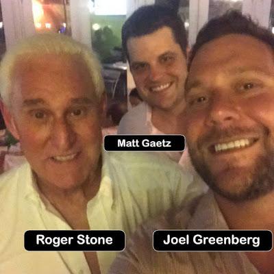 Roger Stone, Matt Gaetz, Joel Greenburg