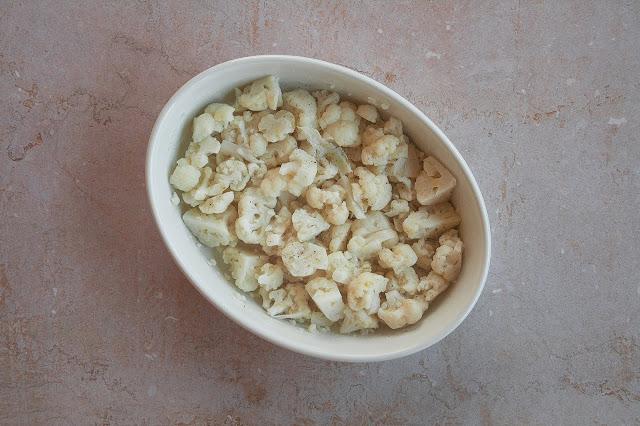 Cavolfiore gratinato al forno step 3