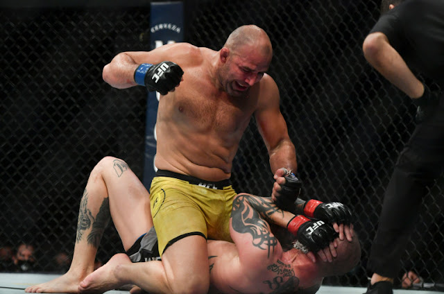 Glover Teixeira Pummels Anthony Smith UFC On ESPN+ 29
