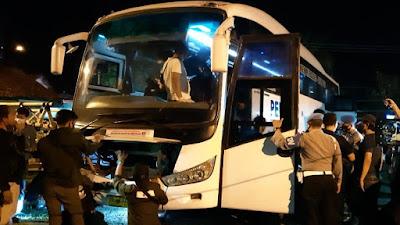 BNN dan Polres Gagalkan Penyeludupan Sabu-Sabu 30 Kg dari Bus Pelangi di Rajapolah Tasikmalaya