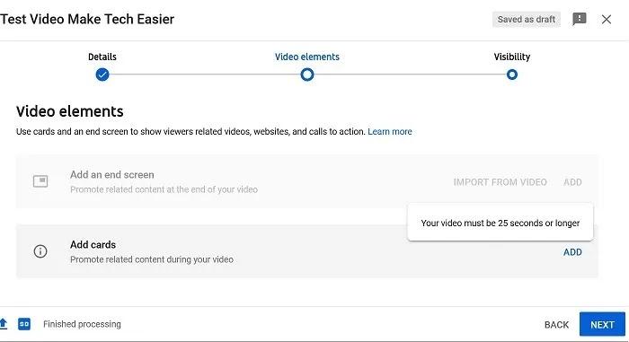 تحميل عناصر فيديو يوتيوب