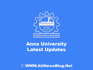 Anna University Special Exam Feb March 2021 Started Again