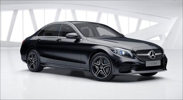 Thiết kế ngoại thất Mercedes C300 AMG 2019