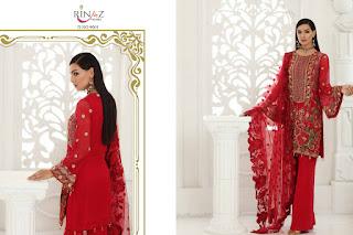 Rinaz fashion Chimmer Pakistani Suits wholesaler