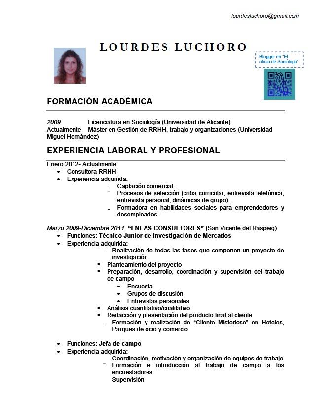 Ejemplo De Curriculum Vitae En Yahoo | Resume Pdf Download