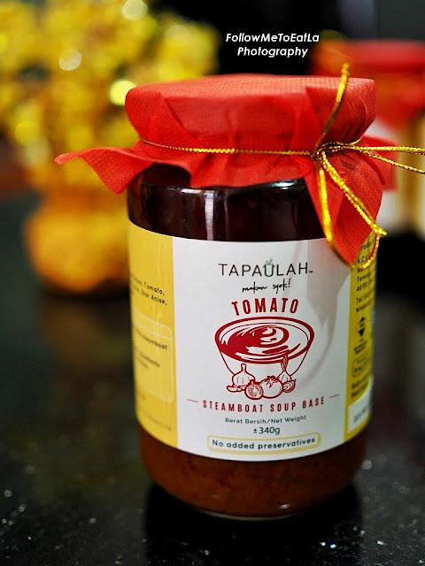 TAPAULAH STEAMBOAT PASTE Tomato