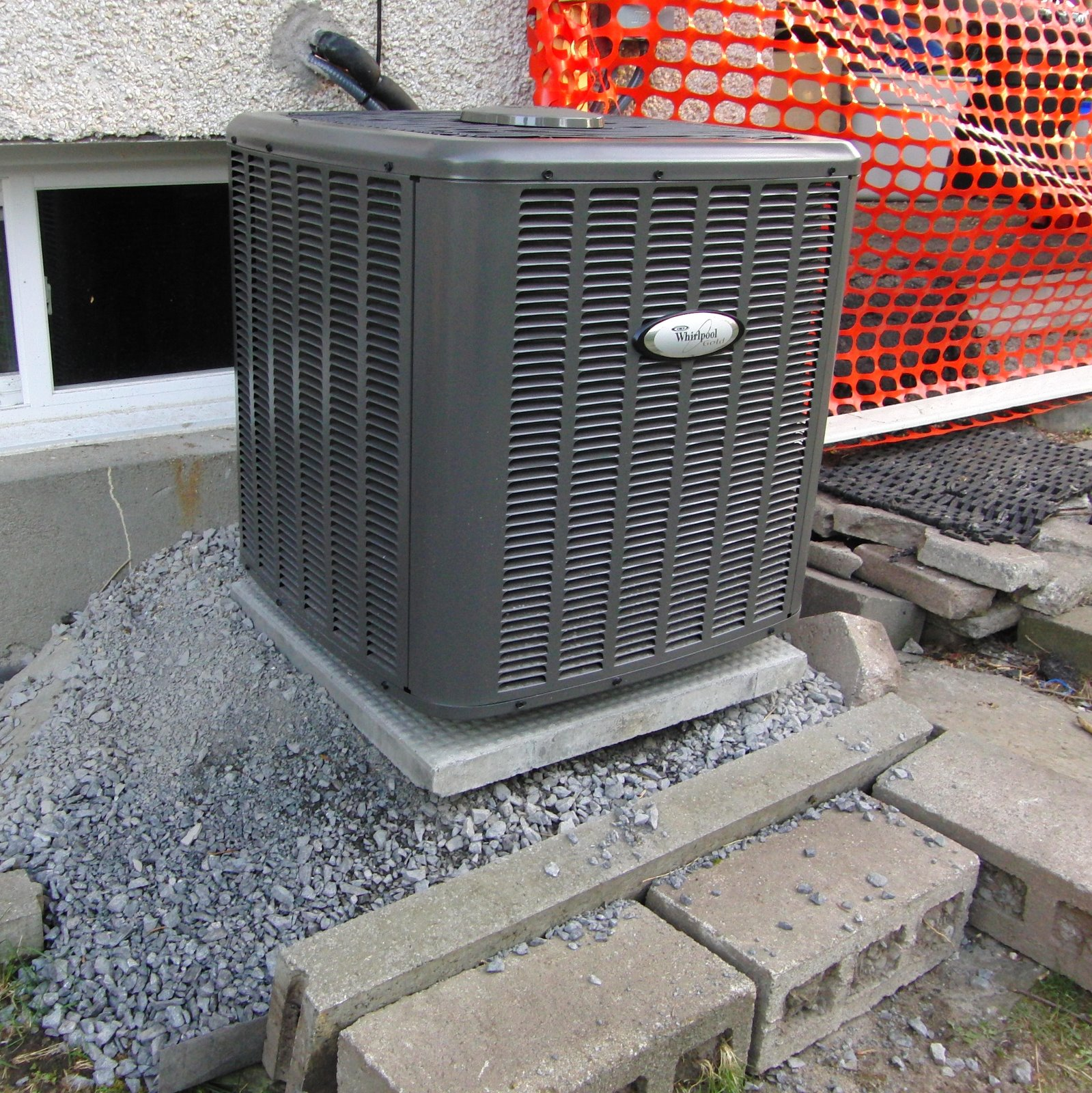 Here Is The Air Conditioner After Installation