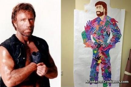 Chuck Norris como Jesucristo