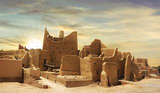 Distrito de Al-Turaif en Diriyah, la primera capital saudí