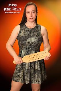 Miss Jenn Davis paddles