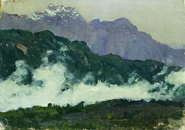 Исаак Ильич Левитан - Альпы. 1897