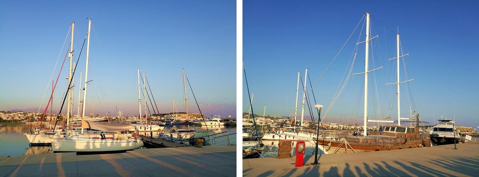 port, Rethymno, Kreta, rejs, Santorini, z Krety na Santorini,