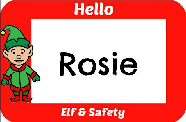Rosies Elf Badge