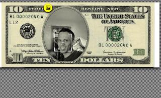 Cara mengedit foto wajah di mata uang dunia