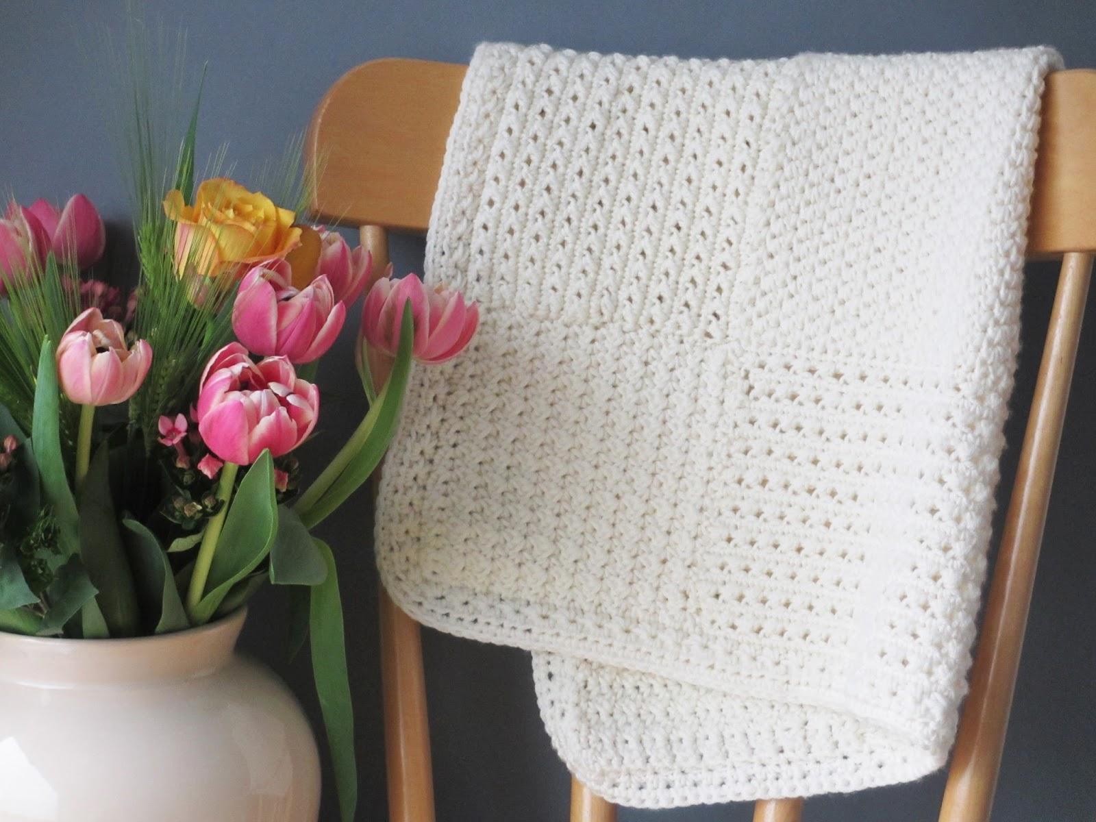 Tadaam Diy Tuto Couverture En Crochet Pour Bébé