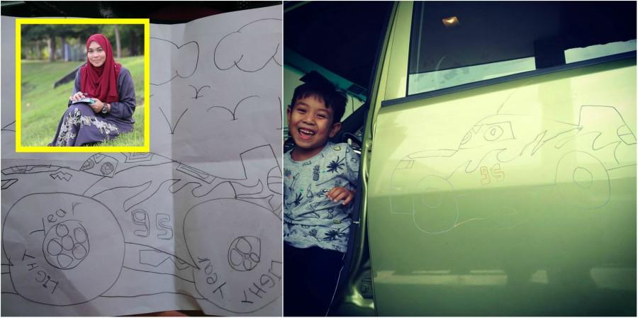 """""""Haikal Nak Bagi Kereta Mama Cantik,"""" Penulis Ini Tunjuk ..."""
