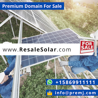 ResaleSolar.com Premium Domain For Sale