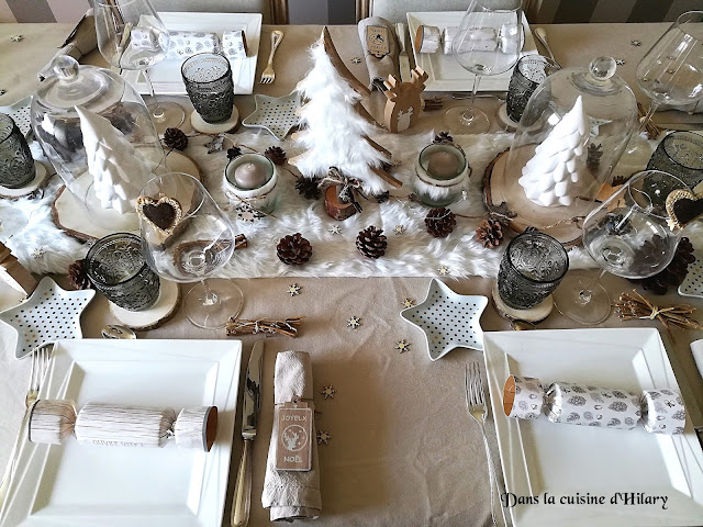 Ma table de Noël cosy aux accents scandinaves