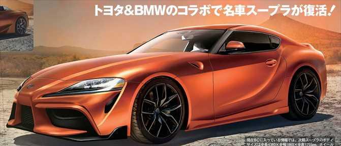 トヨタ新型スープラ 最新情報 画像