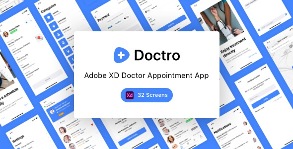 Doctor Appointment App UI Kit