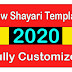 Sancy Shayari Template Blogger Fully Customized Download 2020