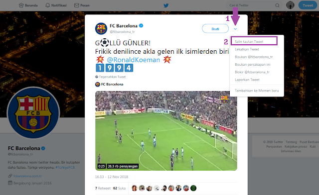 Download Video di Twitter Tanpa Aplikasi