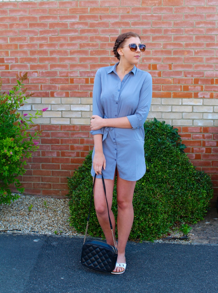 dancingleopardclothing, wiw, whatimwearing, catseyesunglasses, asos, primark, sliders, asseenonme, shirtdress, lotd, lookoftheday, oots, outfitoftheday, summerlook, fashionbloggers, fashionblogger, fbloggers