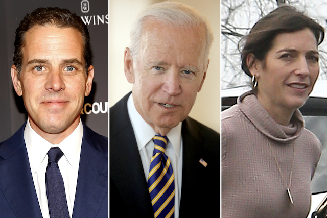 Joe Biden learned of son Hunter's affair with Beau's widow from Page Six