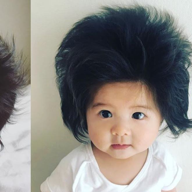 OMG, This Baby Has More Hair That You Do!