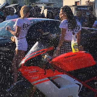 Car-wash girls