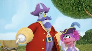 Sesame Street Episode 4314 Sesame Street OSaurus season 43, Abby's Flying Fairy School Treasure Hunt, Captain Hook, Abby Cadabby