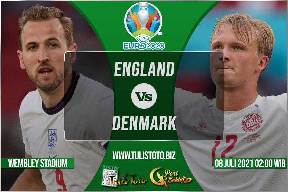 Prediksi England vs Denmark 08 Juli 2021