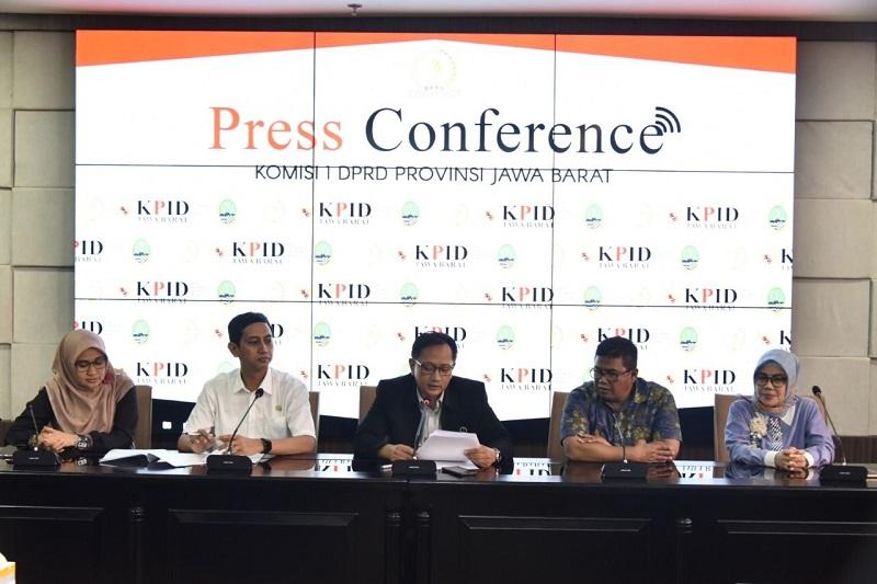 DPRD Jabar Umumkan Timsel Calon Komisioner KPID Jabar Periode 2020-2023